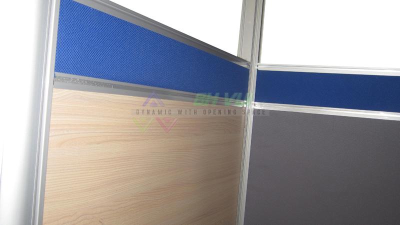 Vách ngăn văn phòng dày 32mm - VVP3001