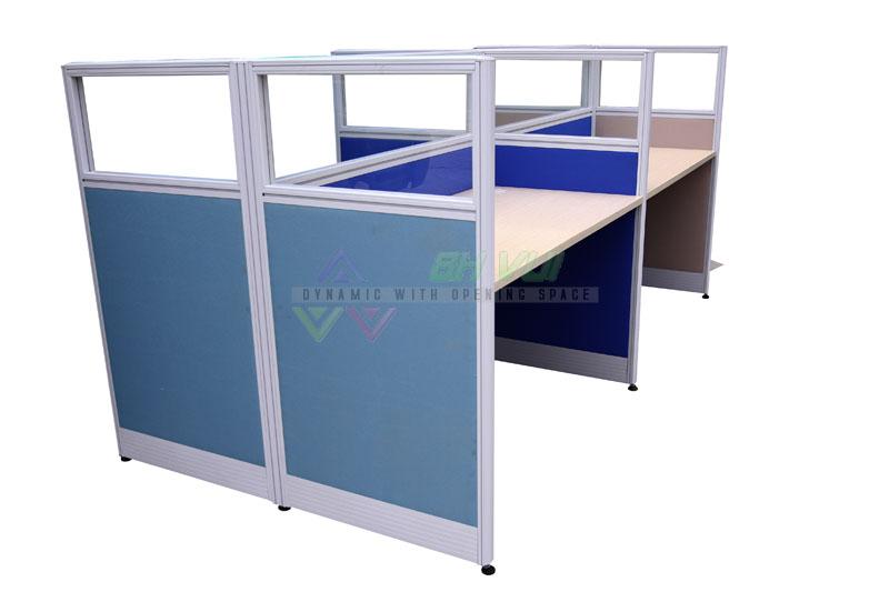 Vách ngăn văn phòng dày 45mm - VVP4501